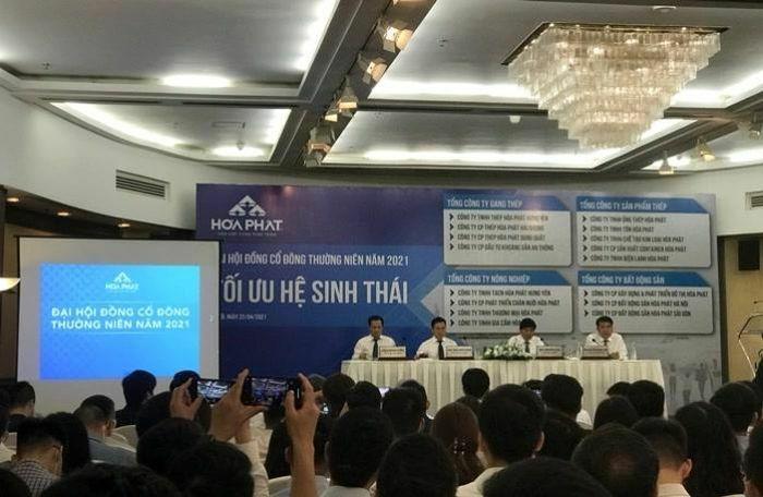"""ĐHCĐ Hòa Phát: Trình kế hoạch lợi nhuận tăng 33% và thông qua thực hiện """"siêu dự án"""" Dung Quất 2"""