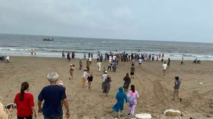 4 học sinh đuối nước khi tắm biển tại Thanh Hóa