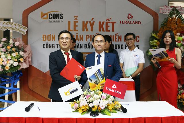 Teraland trở thành đơn vị phân phối chiến lược của Bcons