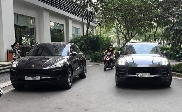 Diễn biến mới nhất vụ 2 xe sang Porsche trùng biển số ở Hà Nội