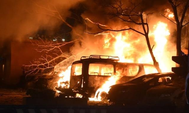 Nổ bom tại khách sạn có đại sứ Trung Quốc ở Pakistan, 4 người chết
