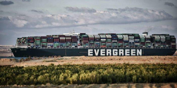 Siêu tàu Ever Given bị cấm rời kênh Suez cho đến khi nộp tiền bồi thường