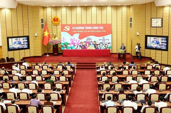Hơn 35 nghìn cán bộ Hà Nội nghiên cứu, quán triệt 10 chương trình công tác khóa 17, nhiệm kỳ 2020-2025