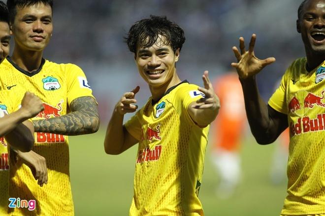 CLB Đà Nẵng 0-2 HAGL: Công Phượng, Văn Toàn tỏa sáng