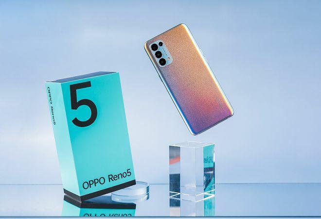 Oppo Reno5 là smartphone bán chạy nhất Việt Nam quý 1/2021
