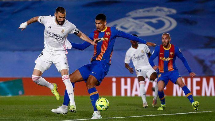Real Madrid 2-0 Barca: Messi suýt ghi siêu phẩm phạt góc (H2)