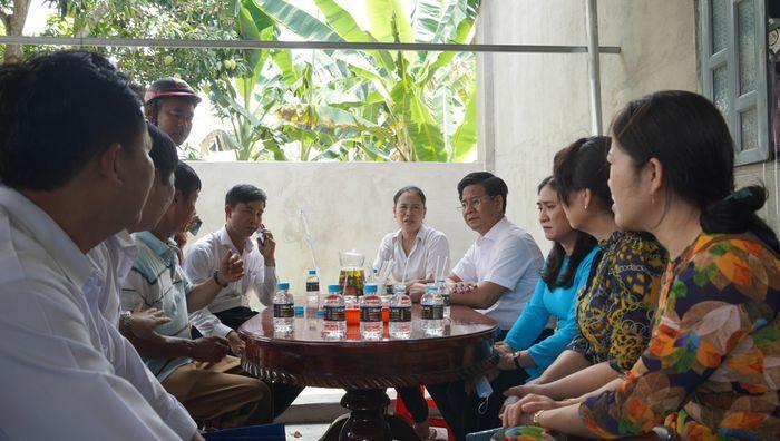 MTTQ tỉnh Bà Rịa – Vũng Tàu động viên gia đình bé gái 5 tuổi bị sát hại