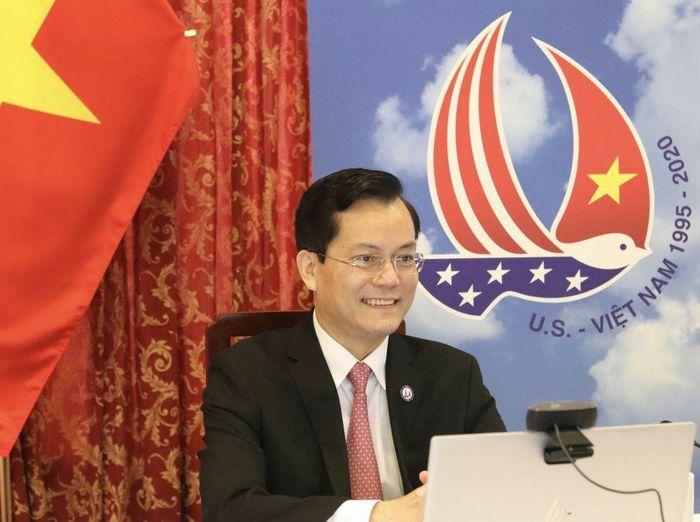 Đại sứ Việt Nam tại Hoa Kỳ Hà Kim Ngọc điện đàm với Hạ nghị sĩ Ami Bera