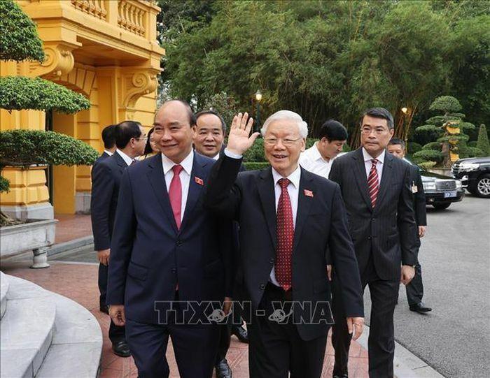 Lễ bàn giao công việc của Chủ tịch nước
