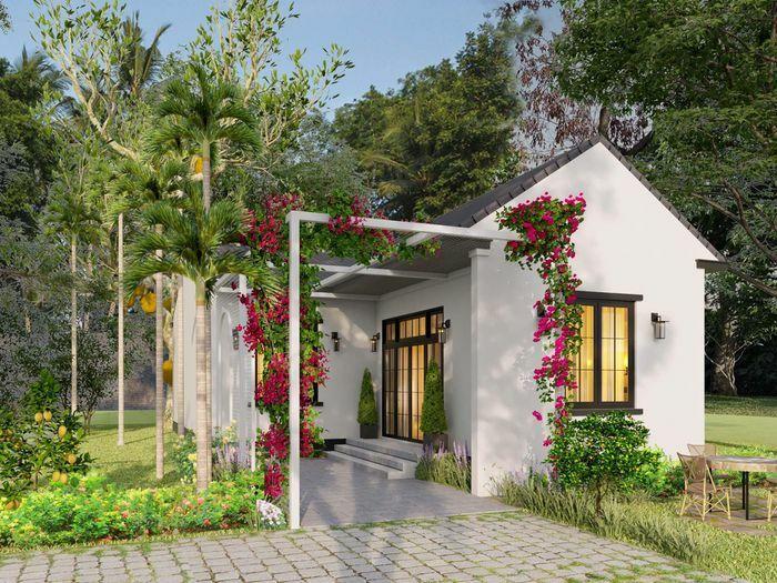 Ba chị em gái ở Bình Định xây nhà cấp 4 tuyệt đẹp tặng bố mẹ
