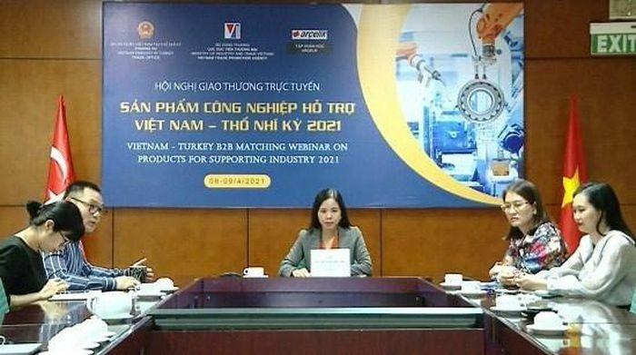 Sản phẩm linh kiện điện tử Việt Nam được giới mua hàng Thổ Nhĩ Kỳ săn đón