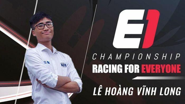 2 đại diện Việt Nam dự Giải đua xe Thể thao mô phỏng E1 Championship Season 1