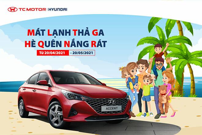 Chương trình khuyến mãi dịch vụ chào hè 2021 tại Hyundai Vĩnh Yên