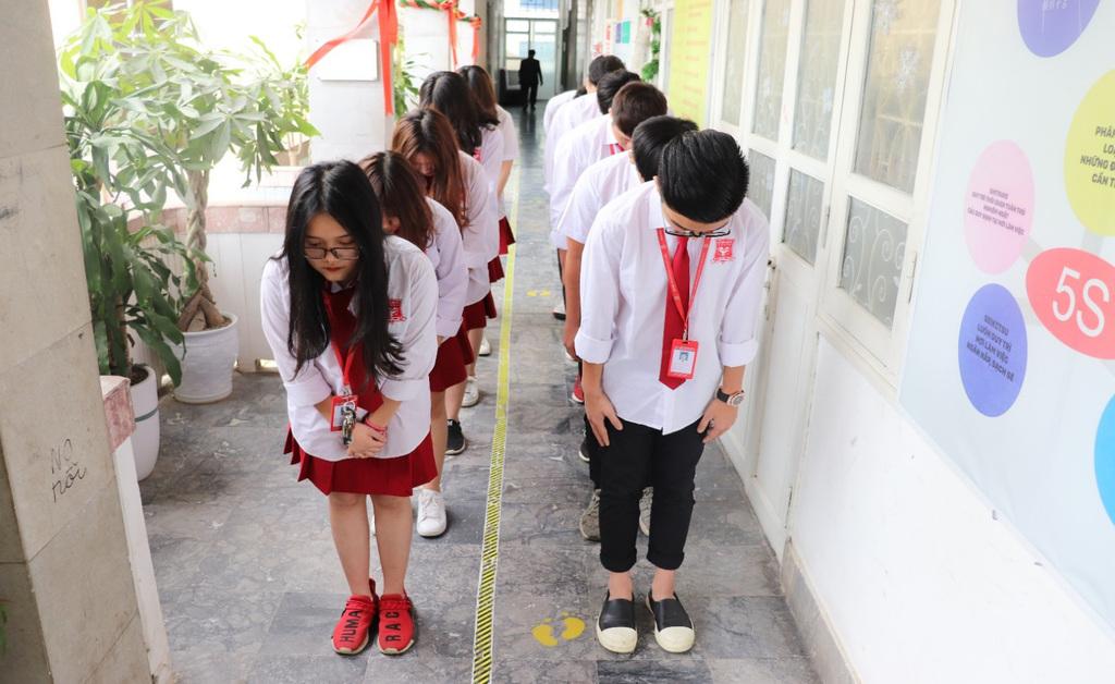 Có một trường cấp 3 giáo dục học sinh theo phong cách Nhật giữa lòng Hà Nội