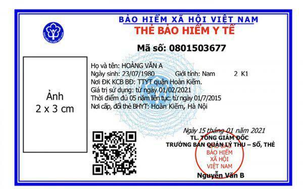4 lưu ý của Bảo hiểm xã hội Việt Nam về việc cấp thẻ bảo hiểm y tế mẫu mới
