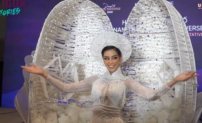 """""""Kén Em"""" – Trang phục dân tộc của Việt Nam sẽ khoe sắc tại Miss Universe chính thức lộ diện"""