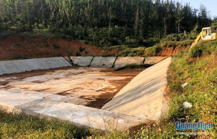 Dự án cấp nước thi công dở dang vì… chờ sửa thiết kế