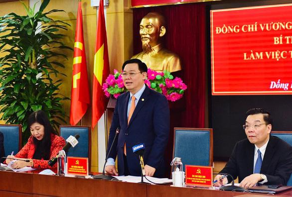 """Đống Đa """"vỡ quy hoạch"""" 110.000 dân, bí thư Hà Nội yêu cầu 'nói không' với dự án chiếm nhiều đất"""