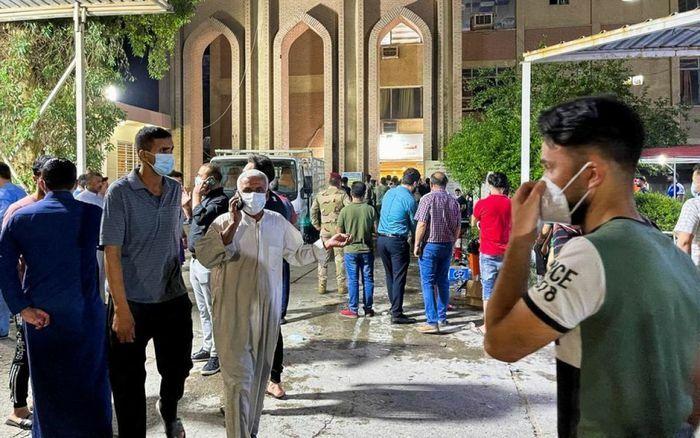 Vụ cháy bệnh viện điều trị Covid-19 ở Baghdad: Do nổ bình oxy