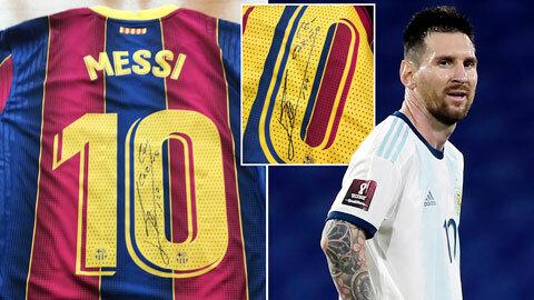 Messi tài trợ 50.000 liều vaccine Covid-19