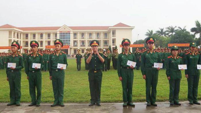 467 học viên Học viên Quân y hoàn thành đào tạo giai đoạn 1 sĩ quan cấp phân đội