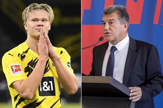 Vì Haaland, tân Chủ tịch Barca chịu chơi hết mình