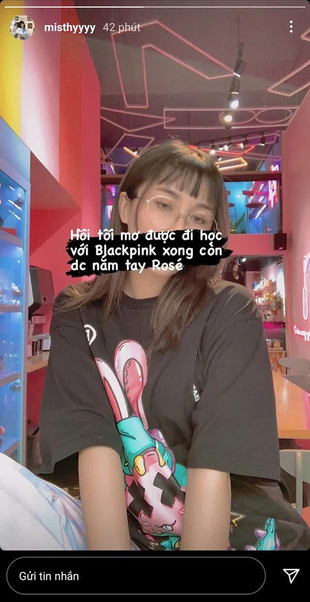 Fan cuồng BLACKPINK chính hiệu gọi tên MisThy, đến nằm mơ cũng muốn nắm tay Rosé!