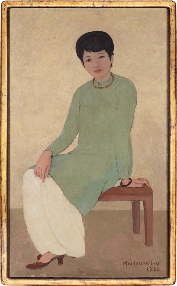"""3,1 triệu đôla: """"Chân dung Madam Phương"""" – bức tranh Việt Nam chạm mức giá kỷ lục"""