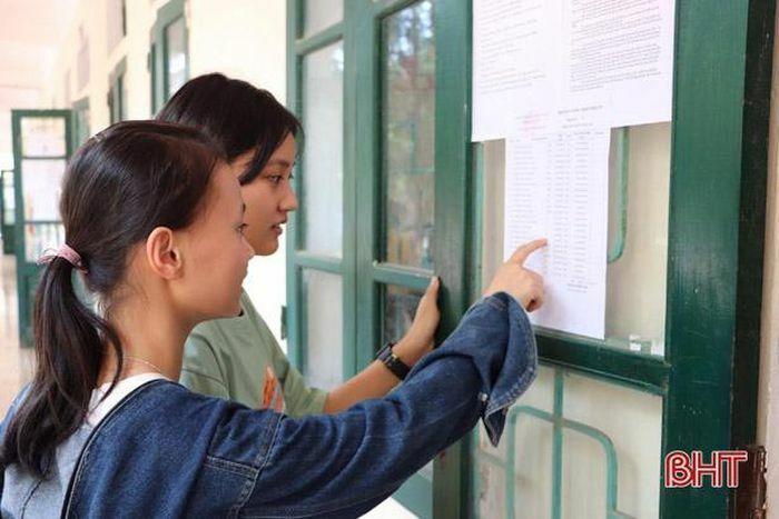 Hà Tĩnh thông báo thời gian, địa điểm đăng ký dự thi tốt nghiệp THPT 2021