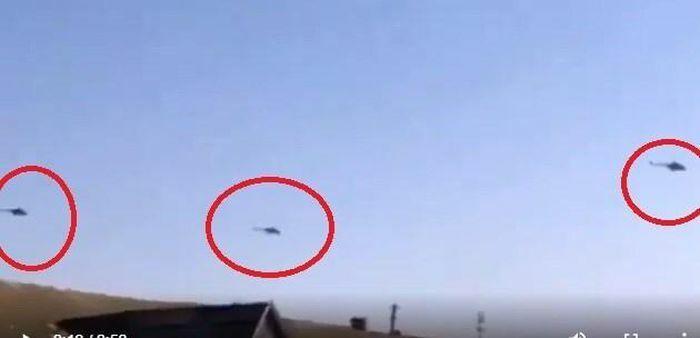 Căng thẳng ở biên giới, trực thăng vũ trang Nga ùn ùn tiến gần Ukraine
