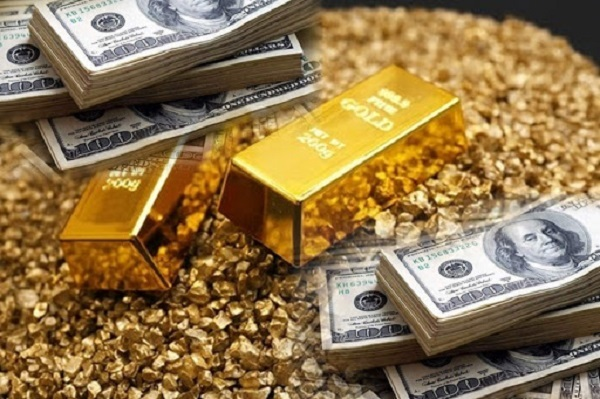 Vàng lao dốc về sát ngưỡng 1.700 USD/ounce