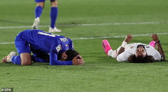 Hòa thất vọng, Real Madrid hụt hơi trong cuộc đua vô địch với Atletico