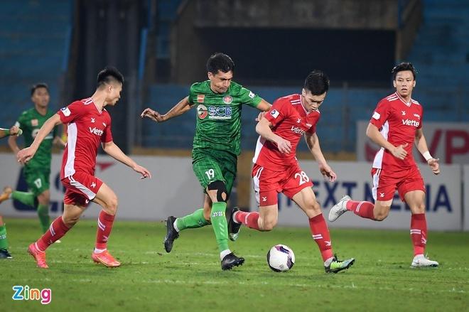 CLB Viettel 3-0 CLB Sài Gòn: Trọng Hoàng tỏa sáng