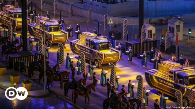 """""""Cuộc diễu hành Vàng của các Pharaoh"""""""