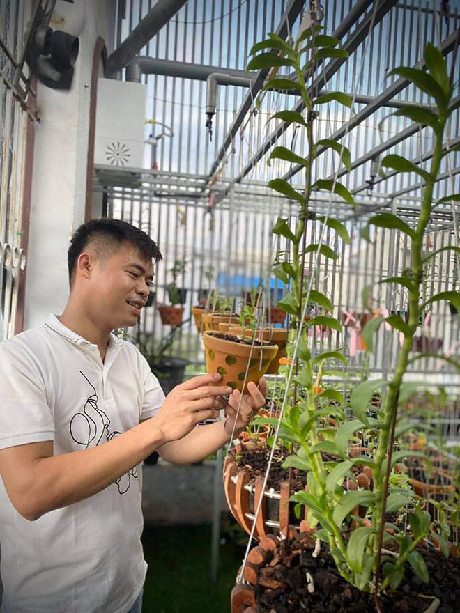 Chia sẻ về cơ duyên đến với hoa lan của ông chủ vườn lan Trung Dũng - ảnh 1