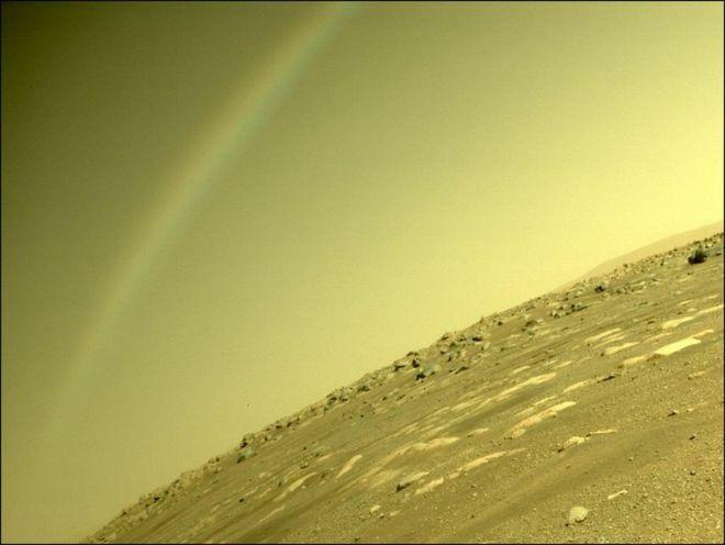 Thực hư cầu vồng mọc trên sao Hỏa - ảnh 1