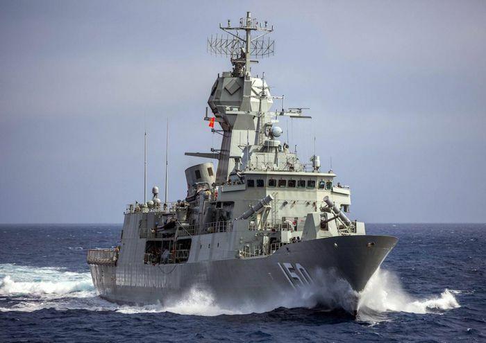 Hải quân Australia tập trận cùng Pháp và nhóm Bộ Tứ tại vịnh Bengal