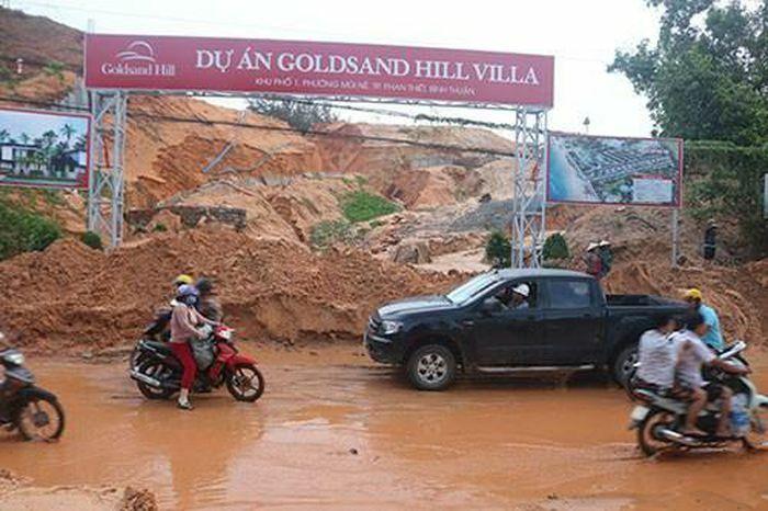 Bình Thuận: Khẩn trương khắc phục sự cố cát tràn tại phường Mũi Né