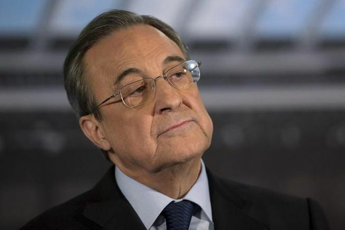 Chủ tịch Perez lo Real Madrid bị đuổi khỏi Champions League
