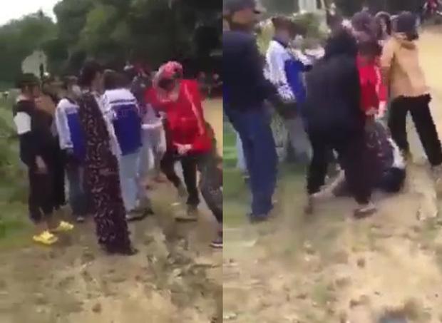 Nghệ An: Nhóm nữ sinh THPT đánh túi bụi em lớp 8 để dằn mặt