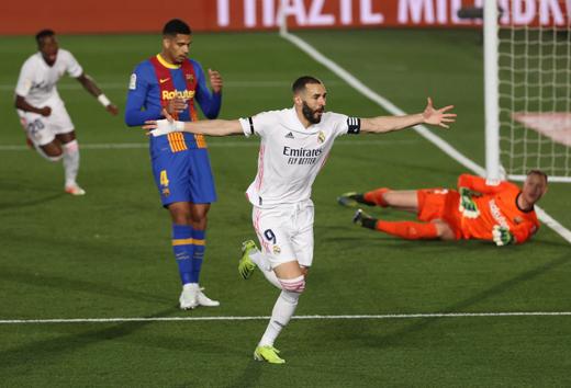 Cuộc đua vô địch La Liga: Lợi thế lớn của Kền kền