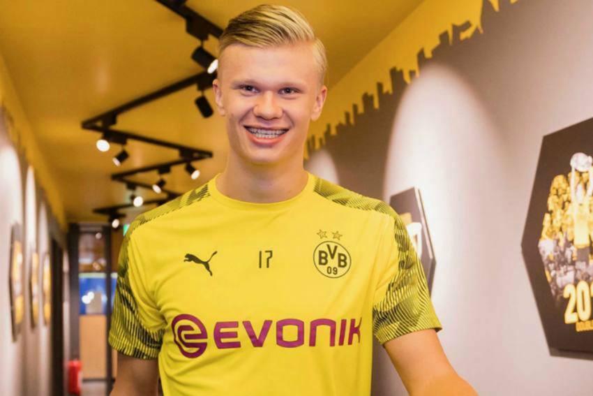 """Cò"" Mino Raiola tiết lộ đàm phán Haaland rời Dortmund"
