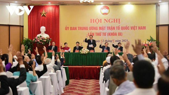 Ông Đỗ Văn Chiến chính thức trở thành Chủ tịch Ủy ban Trung ương MTTQ Việt Nam