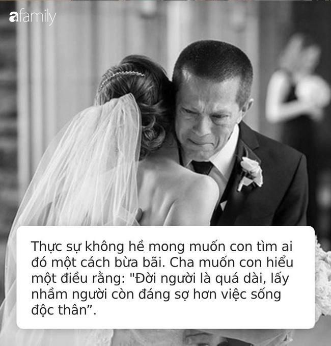 Bức thư cha gửi con gái 30 tuổi chưa kết hôn 'bão like' trên MXH