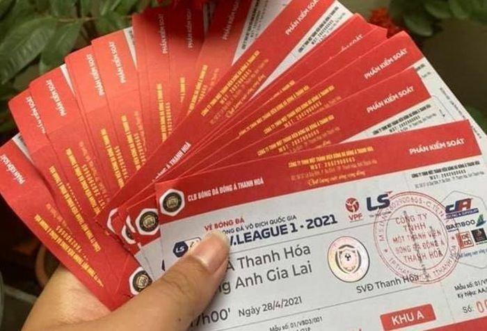 CĐV mua vé trận Đông Á Thanh Hóa – HAGL sẽ được hoàn tiền khi nào?