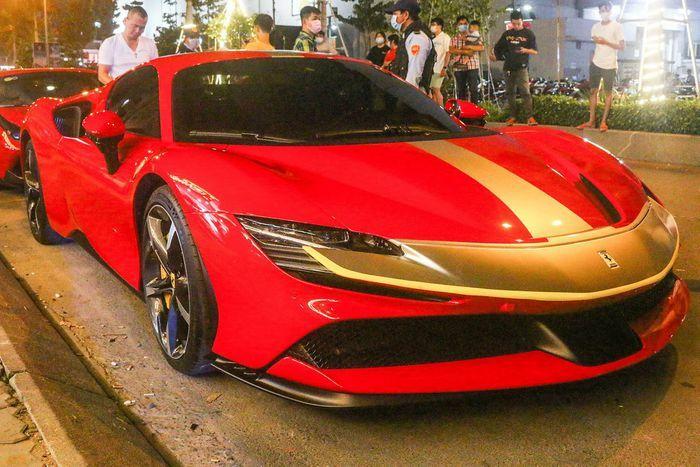 Cận cảnh siêu xe mạnh nhất của Ferrari tại Việt Nam