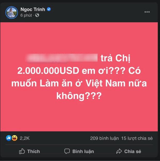 """Ngọc Trinh la làng bị lừa 2 triệu USD xong lại khoe gia tài tiền ảo, Nathan Lee vội """"đá đểu"""""""