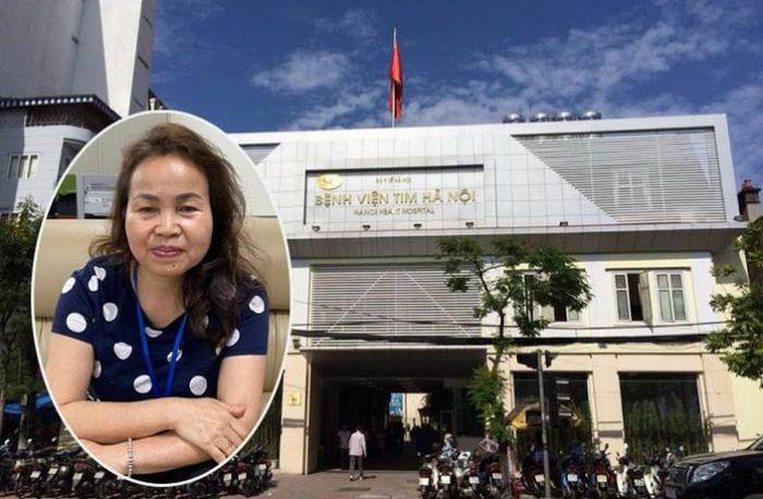 Cựu Phó giám đốc Bệnh viện Tim Hà Nội bị bắt