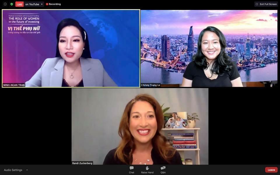 Chị gái tỷ phú Mark Zuckerberg và bà Lê Diệp Kiều Trang khuyên các CEO nữ điều gì?