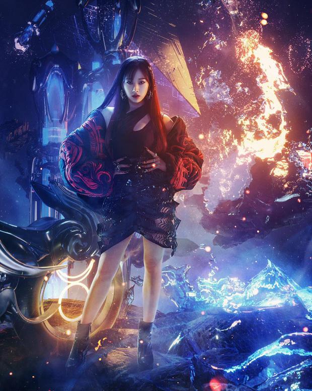 """Đến lượt """"gái Nhật"""" Giselle (aespa) xuất trận, đã đẹp thần thái còn đỉnh cứ như phim siêu anh hùng!"""